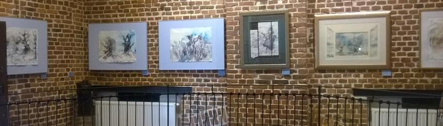"""""""To tutaj"""" – wystawa artystów Ziemi Pszczyńskiej Kliknięcie w obrazek spowoduje wyświetlenie jego powiększenia"""
