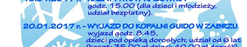 Ferie Zimowe 2017 Kliknięcie w obrazek spowoduje wyświetlenie jego powiększenia
