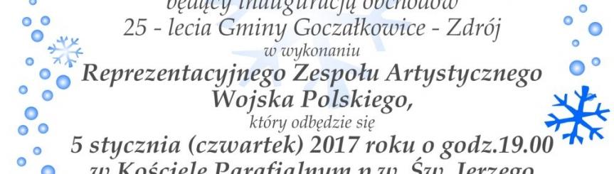 Koncert świąteczny Reprezentacyjnego Zespołu Artystycznego Wojska Polskiego  Kliknięcie w obrazek spowoduje wyświetlenie jego powiększenia