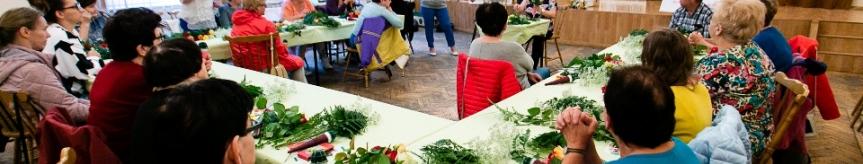 Warsztaty florystyczne w ramach Festiwalu Róż Kliknięcie w obrazek spowoduje wyświetlenie jego powiększenia