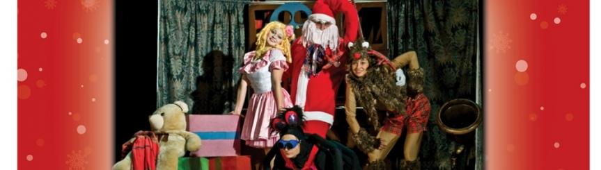 Mikołaj w GOK i GBP Kliknięcie w obrazek spowoduje wyświetlenie jego powiększenia
