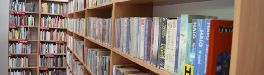 Do biblioteki z zachowaniem reżimu sanitarnego Kliknięcie w obrazek spowoduje wyświetlenie jego powiększenia