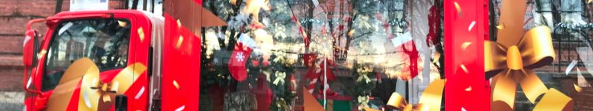 Express św. Mikołaja przejechał ulicami Goczałkowic Kliknięcie w obrazek spowoduje wyświetlenie jego powiększenia