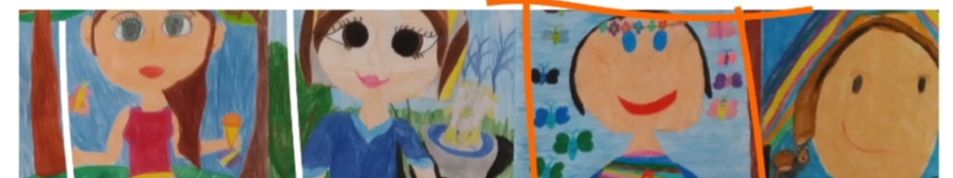 """""""Portret mojej mamy"""" - konkurs plastyczny Kliknięcie w obrazek spowoduje wyświetlenie jego powiększenia"""